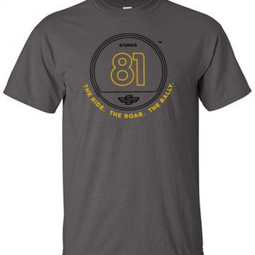 81st Official Logo T-shirt