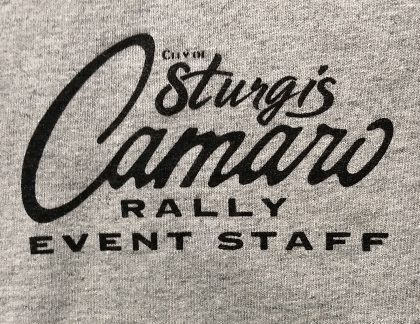Camaro Rally Event Staff